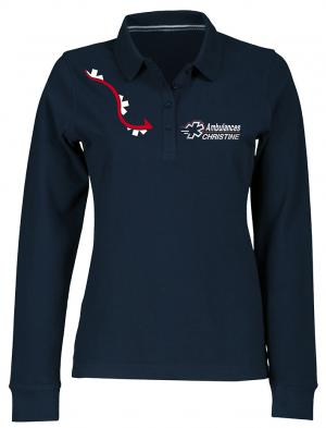 POLO FEMME LG3  MANCHES LONGUES