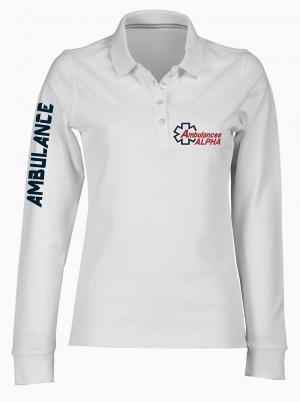 POLO MANCHES LONGUES LG9 FEMME