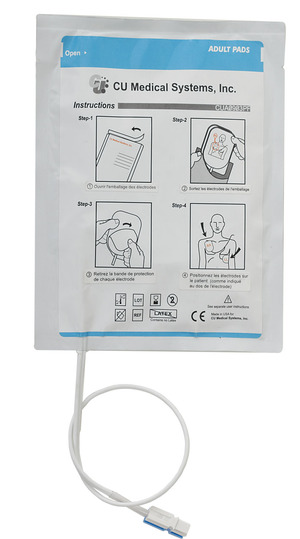ELECTRODES ENFANT AMBULANCIER