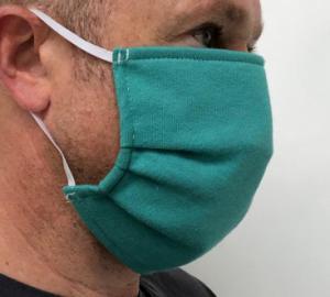 Masque en tissus assemblé