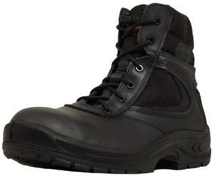 La souplesse de cette chaussure ambulancier apporte plus de confort et de mobilité.