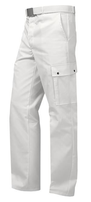 Un pantalon blanc pas cher et de qualité supèrieure pour les ambulanciers et les professionnels du premier secours.