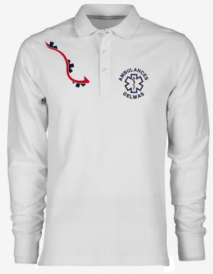 POLO HOMME LG3  MANCHES LONGUES