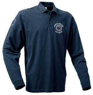 Avec sa couleur bleu marine ce polo ambulancier est assorti à notre gamme de pantalons.