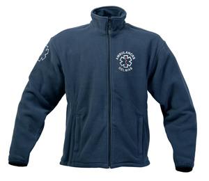 Vêtement ambulancier en tissu polaire, veste polaire pas chère et de très belle qualité.
