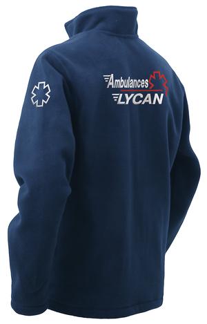 Veste polaire pour l'ambulancier qui recherche un vêtement de qualité.