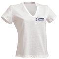 T-SHIRT ENCOLURE V FEMME AMBULANCIER